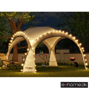 LED - Event pavillon - XXL - DomeShelter - Antracit - 1034207854a - e-home_TITEL