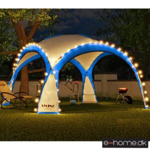 LED - Event pavillon - XXL - DomeShelter - Blå- 1034207854b - e-home_TITEL