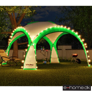 LED - Event pavillon - XXL - DomeShelter - Grøn - 1034207854g - e-home_TITEL