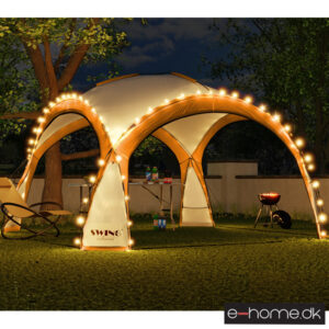 LED - Event pavillon - XXL - DomeShelter - Orange - 1034207854o - e-home_TITEL