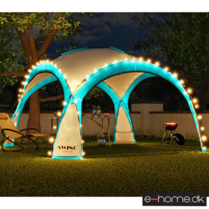 LED - Event pavillon - XXL - DomeShelter - Turkus - 1034207854t - e-home_TITEL