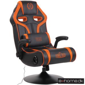 Sonoma Gamer Stol med Lyd Sort:Orange_313050_e-home_TITLE